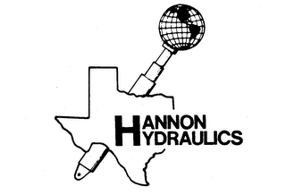 mark for HANNON HYDRAULICS, trademark #73777134