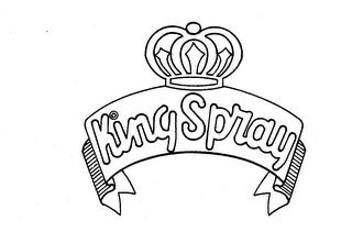 mark for KING SPRAY, trademark #73783577