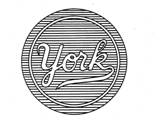 mark for YORK, trademark #73790069