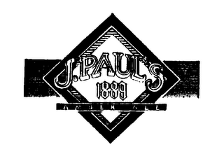 mark for J. PAUL'S 1889 AMBER ALE, trademark #73791553