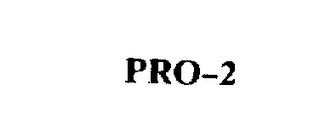 mark for PRO-2, trademark #73792775