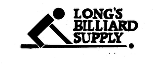 mark for LONG'S BILLIARD SUPPLY, trademark #73795151