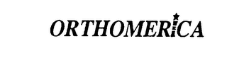 mark for ORTHOMERICA, trademark #73813971