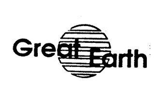 mark for GREAT EARTH, trademark #73820181