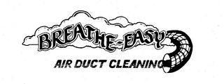 mark for BREATHE-EASY AIR DUCT CLEANING, trademark #73828174