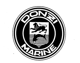 mark for DONZI MARINE, trademark #73828554