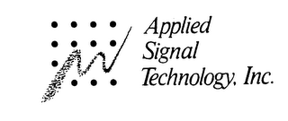 mark for APPLIED SIGNAL TECHNOLOGY, INC., trademark #73839966
