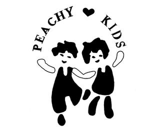 mark for PEACHY KIDS, trademark #74028458