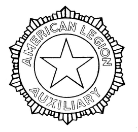 mark for AMERICAN LEGION AUXILIARY, trademark #74048742