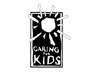 mark for CARING FOR KIDS, trademark #74052725