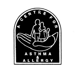 mark for A CENTRE FOR ASTHMA & ALLERGY, trademark #74098063