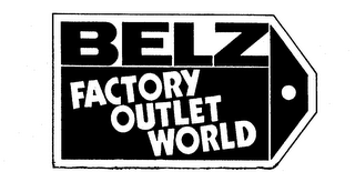 mark for BELZ FACTORY OUTLET WORLD, trademark #74113852