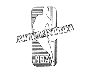 mark for AUTHENTICS NBA, trademark #74122567