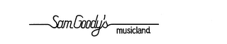 mark for SAM GOODY'S MUSICLAND, trademark #74123825