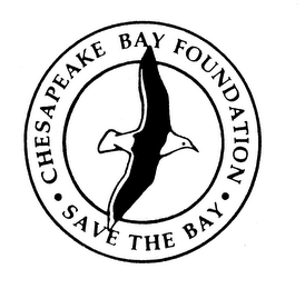 mark for CHESAPEAKE BAY FOUNDATION SAVE THE BAY, trademark #74143373