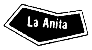 mark for LA ANITA, trademark #74187597