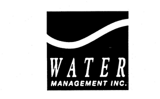 mark for WATER MANAGEMENT INC., trademark #74205601
