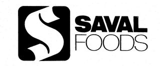 mark for SAVAL FOODS, trademark #74234435