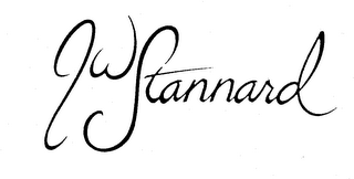 mark for JW STANNARD, trademark #74256154