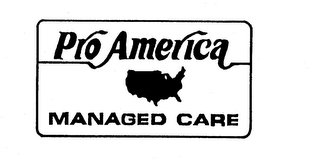 mark for PROAMERICA MANAGED CARE, trademark #74261523