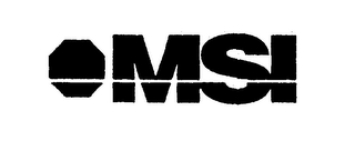 mark for MSI, trademark #74273735