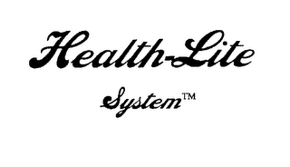 mark for HEALTH-LITE SYSTEM, trademark #74285115