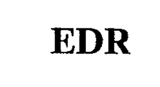 mark for EDR, trademark #74286865