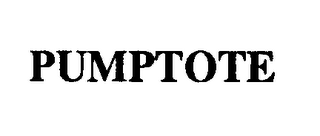 mark for PUMPTOTE, trademark #74291565