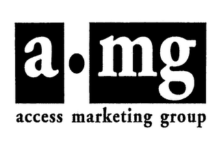 mark for A-MG ACCESS MARKETING GROUP, trademark #74297649
