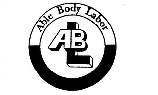 mark for ABLE BODY LABOR ABL, trademark #74318921