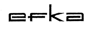 mark for EFKA, trademark #74319597