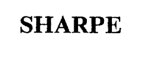 mark for SHARPE, trademark #74331094