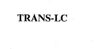 mark for TRANS-LC, trademark #74337721