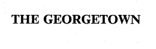 mark for THE GEORGETOWN, trademark #74341253