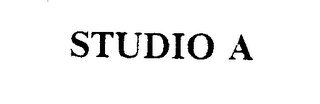 mark for STUDIO A, trademark #74358305