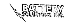 mark for BATTERY SOLUTIONS INC., trademark #74412569