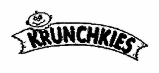 mark for KRUNCHKIES, trademark #74429533