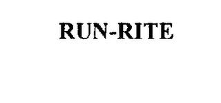 mark for RUN-RITE, trademark #74460915