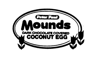 mark for PETER PAUL MOUNDS DARK CHOCOLATE COVERED COCONUT EGG, trademark #74462932