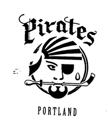 mark for PORTLAND PIRATES, trademark #74467274