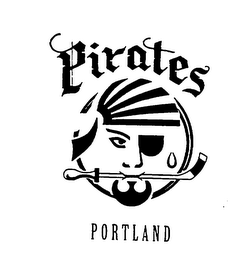mark for PORTLAND PIRATES, trademark #74467275