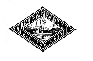 mark for ALASKA SEAFOOD WORLD'S FINEST, trademark #74471628