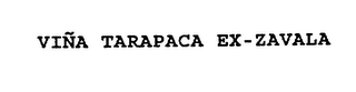 mark for VINA TARAPACA EX-ZAVALA, trademark #74550780
