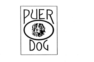 mark for PUER DOG, trademark #74551204