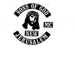 mark for SONS OF GOD MC NEW JERUSALEM, trademark #74563551