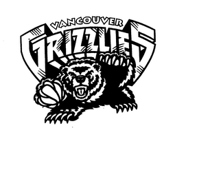 mark for VANCOUVER GRIZZLIES, trademark #74565021