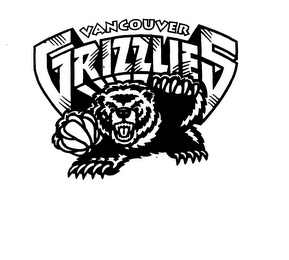mark for VANCOUVER GRIZZLIES, trademark #74565023