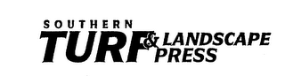 mark for SOUTHERN TURF & LANDSCAPE PRESS, trademark #74595639