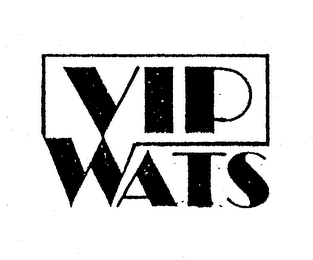 mark for VIP WATS, trademark #74601549