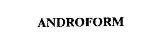 mark for ANDROFORM, trademark #74604709